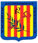 Escut Ajuntament de Ribera d'Ondara.